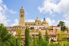 Kathedraal Segovia royalty-vrije stock fotografie