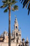Kathedraal, Sevilla Stock Foto's