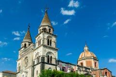 Kathedraal in Sicilië, Italië stock foto