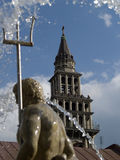 Kathedraal St Nicolaus Royalty-vrije Stock Afbeelding