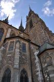 Kathedraal st Peter en Pavl, Brno Royalty-vrije Stock Fotografie