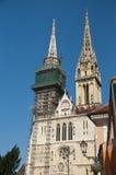 Kathedraal St Steffan stock foto