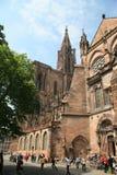 Kathedraal Straatsburg Stock Afbeeldingen