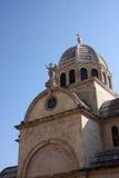 Kathedraal Sveti Jakov in Sibenik Royalty-vrije Stock Foto