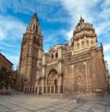 Kathedraal in Toledo Spanje Royalty-vrije Stock Afbeeldingen