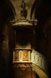 Kathedraal in Transsylvanië stock foto's