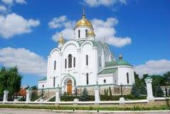 Kathedraal, Tyraspol, Transnistria Stock Afbeeldingen