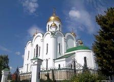 Kathedraal, Tyraspol, Transnistria Royalty-vrije Stock Foto