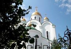 Kathedraal, Tyraspol, Transnistria Royalty-vrije Stock Fotografie