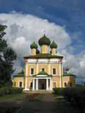 Kathedraal in Uglich. Royalty-vrije Stock Afbeeldingen