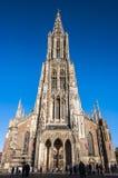 Kathedraal in Ulm Stock Afbeeldingen