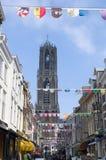 Kathedraal in Utrecht, Nederland Royalty-vrije Stock Afbeelding