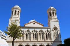 Kathedraal van agia-Napa, de belangrijkste Orthodoxe Kerk van Limassol stad, Cyprus stock afbeeldingen