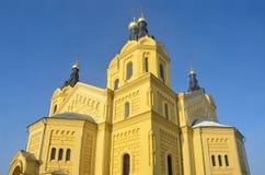 Kathedraal van Alexander Nevsky in Nizhny Novgorod Royalty-vrije Stock Afbeelding