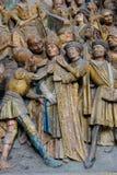 Kathedraal van Amiens stock afbeeldingen