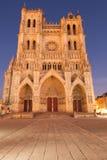 Kathedraal van Amiens Stock Fotografie