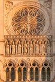 Kathedraal van Amiens Stock Foto's