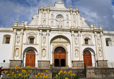 Kathedraal van Antigua, Guatemala Royalty-vrije Stock Fotografie