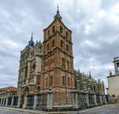 Kathedraal van Astorga Spanje Royalty-vrije Stock Foto's