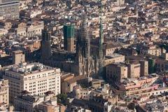Kathedraal van Barcelona Royalty-vrije Stock Afbeeldingen