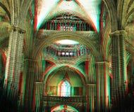 Kathedraal van Barcelona Stock Afbeeldingen