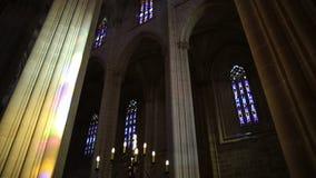 Kathedraal van Batalha-Plafond stock footage