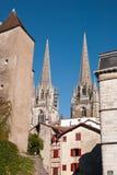 Kathedraal van Bayonne Stock Afbeeldingen