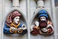Kathedraal van Bern stock afbeelding