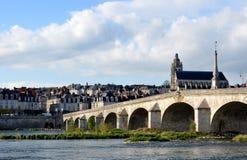 Kathedraal van Blois in Frankrijk Royalty-vrije Stock Foto