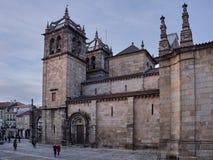 Kathedraal van Braga, details stock fotografie
