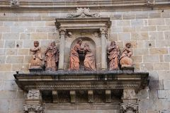 Kathedraal van Braga, S stock afbeelding