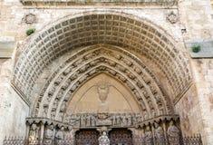 Kathedraal van Burgo DE Osma Stock Foto