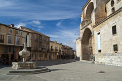 Kathedraal van Burgo DE Osma, Soria, Spanje Royalty-vrije Stock Fotografie