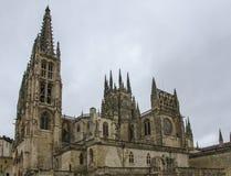 Kathedraal van Burgos, Spanje Royalty-vrije Stock Foto