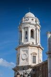 Kathedraal van Cadiz stock afbeeldingen