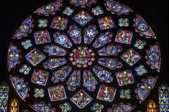 Kathedraal van Chartres Royalty-vrije Stock Afbeeldingen
