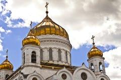 Kathedraal van Christus de Redder, Moskou, Rusland Royalty-vrije Stock Foto