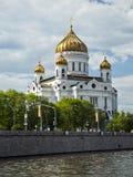 Kathedraal van Christus de Redder Moskou, Rusland Royalty-vrije Stock Foto's