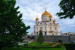 Kathedraal van Christus de Verlosser Royalty-vrije Stock Afbeelding