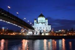 Kathedraal van Christus de Verlosser Stock Fotografie