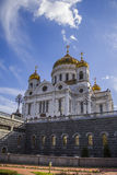 Kathedraal van Christus de Verlosser, Moskou Stock Afbeeldingen