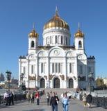 Kathedraal van Christus de Verlosser (Moskou, Rusland) Royalty-vrije Stock Afbeelding