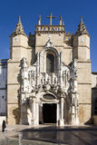 Kathedraal van Coimbra, Portugal Stock Foto's