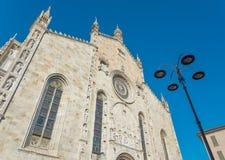 Kathedraal van Como Stock Afbeelding