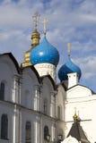Kathedraal van de aankondiging in het Kremlin, kazan, Russische federatie Stock Foto's