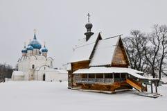 Kathedraal van de Geboorte van Christus in Suzdal Stock Fotografie