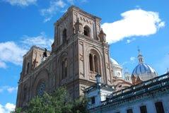 Kathedraal van de Onbevlekte Ontvangenis, Cuenca, Ecuador Stock Afbeeldingen