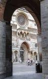 Kathedraal van de stad van Cremona Royalty-vrije Stock Fotografie