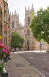 Kathedraal van de straat stock fotografie