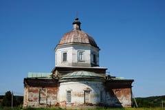 Kathedraal van de Verlosser van Christus van 19de eeuw op zonnige de lentedag restauratie Reis over Rusland, het gebied van Sarat royalty-vrije stock foto